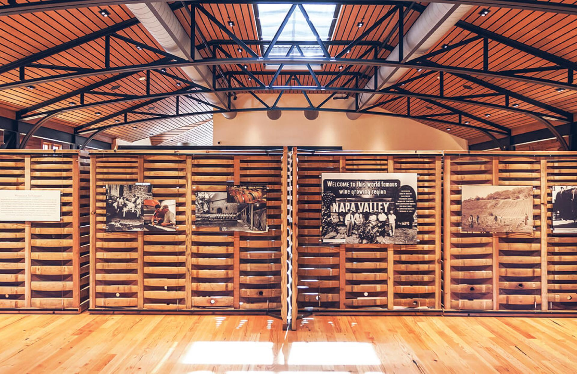 Freemark Abbey Winery St. Helena Napa Valley great hall